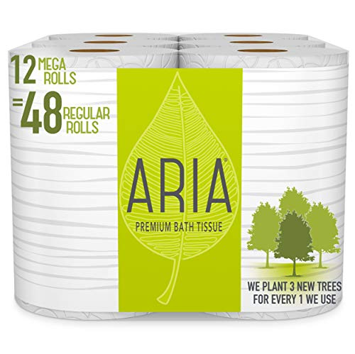 Aria Premium Earth-Friendly Toilet Paper
