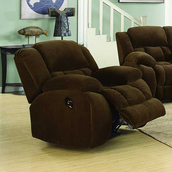 Coaster-Weissman-Casual-Pillow-Padded-Glider-Recliner