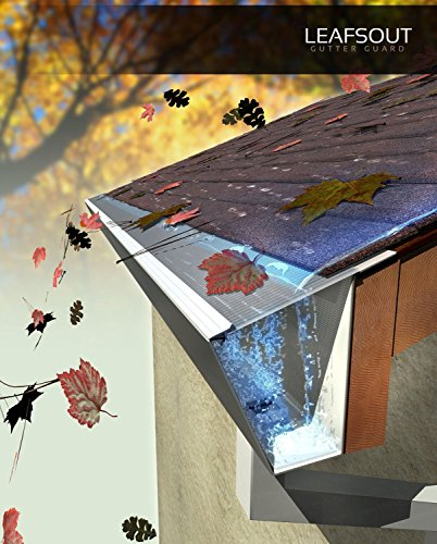 Leafs Out Micro Mesh Gutter Protection System