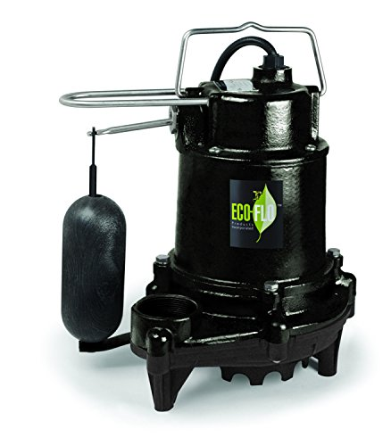 ECO-FLO EFSA33 Cast Iron Sump Pump