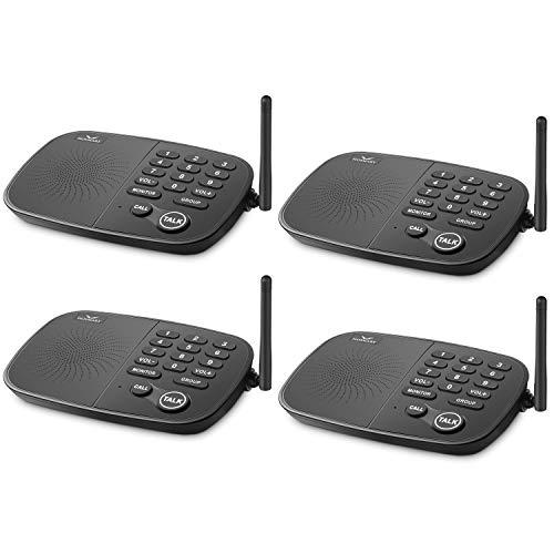 Hosmart ½ Mile Long Range 7-Channel Security Wireless Intercom System