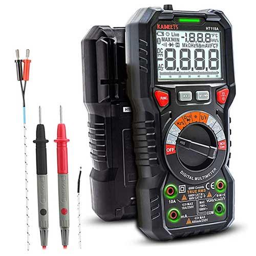 KAIWEETS True RMS 6000 Counts Digital Multimeter