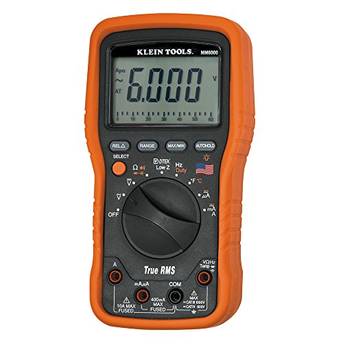 Klein Tools MM6000 Electrician's HVAC TRMS Multimeter