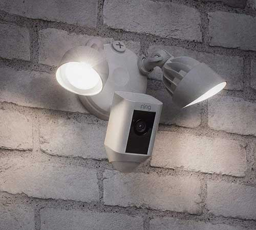 Ring Floodlight Camera with Two Way Audio