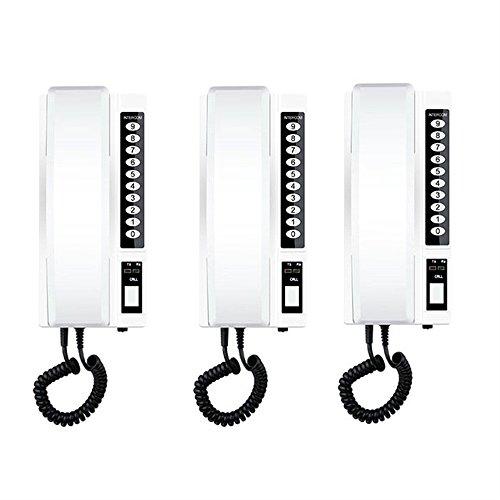 Ruise Wireless Intercom System Secure Interphone Handsets