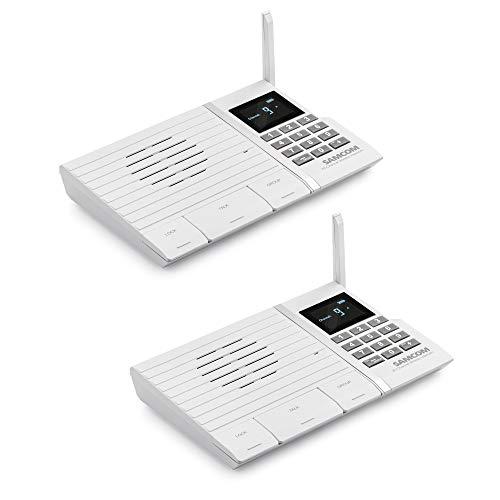 Samcom 20-Channel Wireless Intercom System
