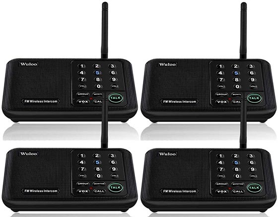 Wuloo Long Range Home Intercom System