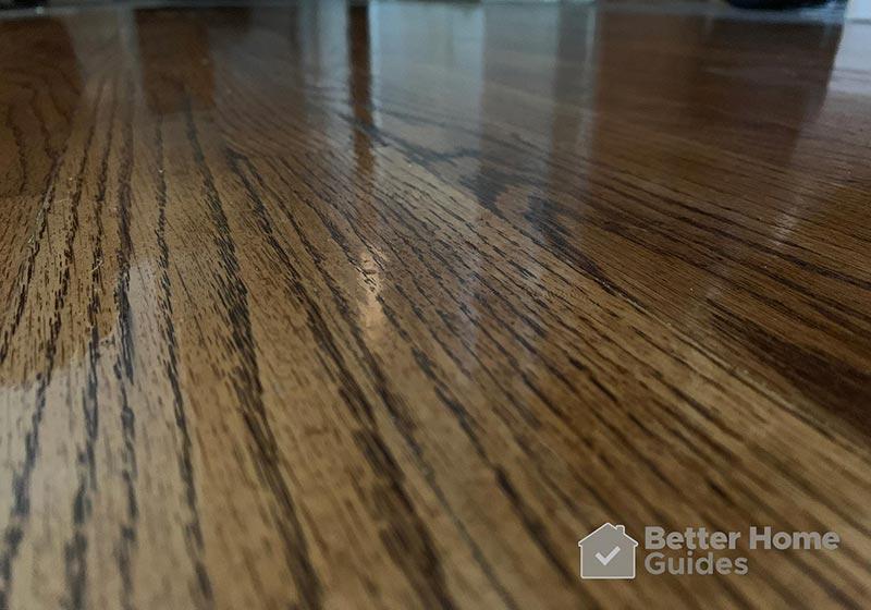 Hardwood Floor Close Up View