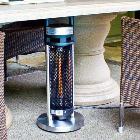 Ener-G+ HEA-20960-D1 Portable Indoor Outdoor Freestanding Electric Table Heater