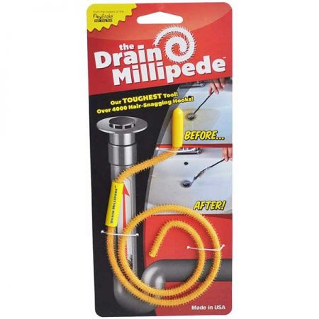 FlexiSnake Drain Millipede Hair Clog Tool for Drain Cleaning