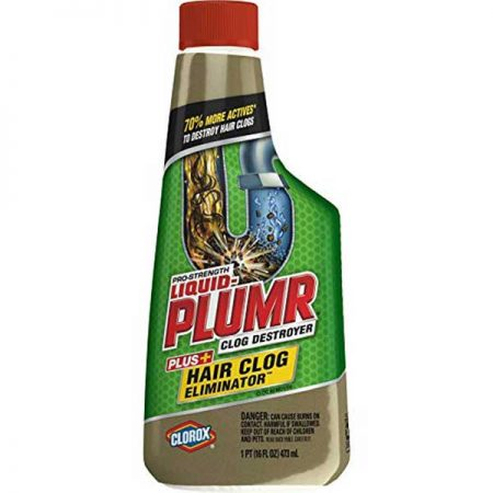 Liquid-Plumr Pro Strength Hair Clog Bathroom Cleaner