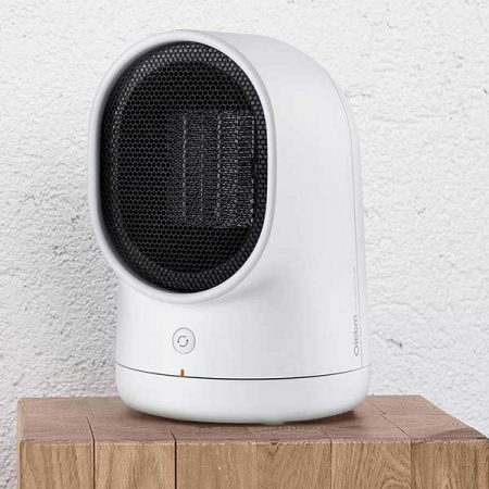 Oittm Electric Mini Oscillating Space Heater