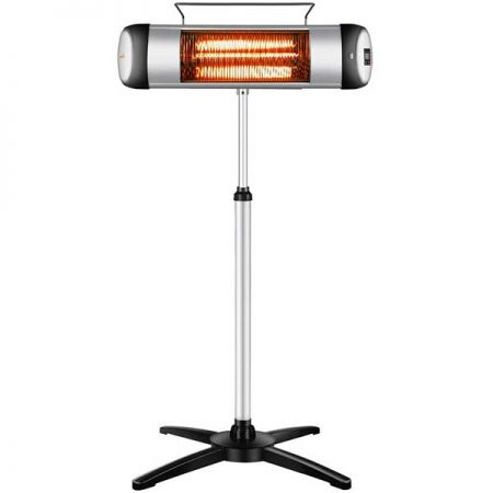 Sundate Patio Electric Infrared Heater Standing or Wall Mounted